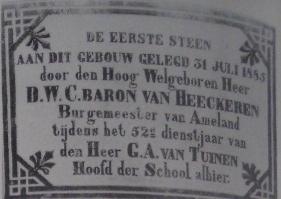 Eerste-steen-school-Ballum-1885